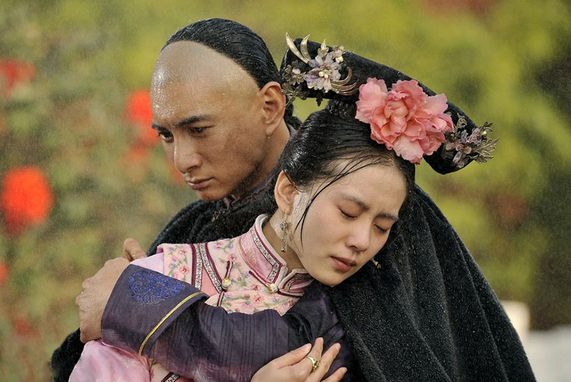 A still frame from the TV period drama 'Scarlet Heart.' IC
